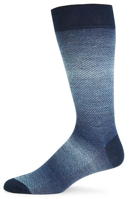 Marcoliani Milano Shaded Pique Knit Socks