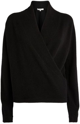 Vince Wrap-Front Cashmere Sweater