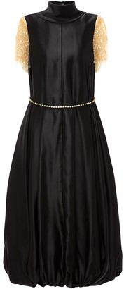 J.W.Anderson Frilled-Sleeves Balloon Dress