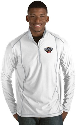 Antigua Men's New Orleans Pelicans Tempo Quarter-Zip Pullover