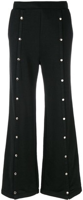Alexander Wang Studded Flared Trousers