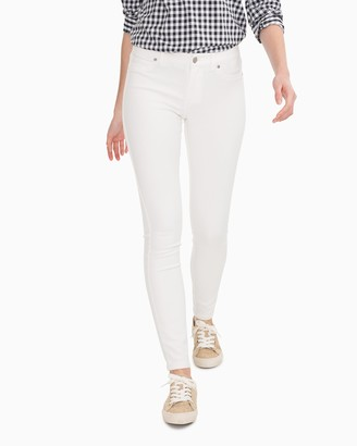 Southern Tide White Stretch Resort Skinny Jean