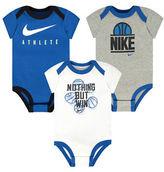 Nike Three-Pack Graphic Printed Bodysuit Set