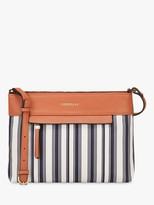 Fiorelli Chelsea Stripe Cross Body Bag, Nautical Navy