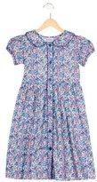 Rachel Riley Girls' Collared Floral Print Dress w/ Tags