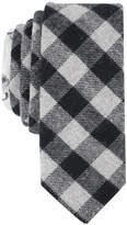 Original Penguin Men's Edell Check Skinny Tie