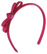 Cat & Jack Girls' Glitter Headband Cat & Jack - Dramatic Pink