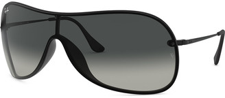 Ray-Ban Men's Lens-Over-Frame Shield Sunglasses