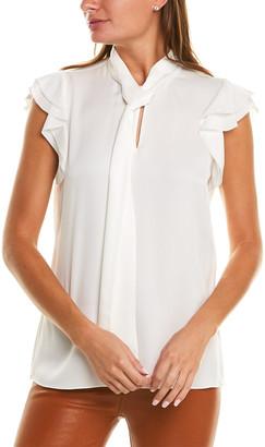 Elie Tahari Bree Silk Shirt