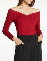 Somerset by Alice Temperley Off The Shoulder Top, Rust