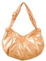 Jimmy Choo Iridescent Leather Shoulder Bag