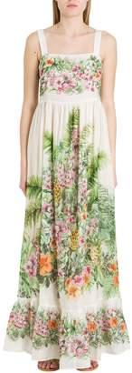 Twin-Set TwinSet Floral Long Dress