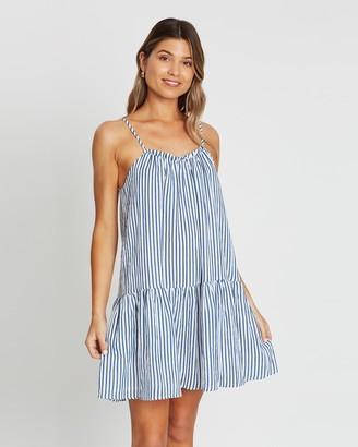 Atmos & Here Maria Tiered Mini Dress