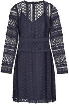 Sam Edelman Fringe Lace Sheath Dress
