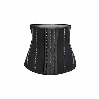 RETYLY Sports Belt Yoga Slimming Shaping Belt Ladies Fitness Shapewear Sweat Tummy Belt L Code