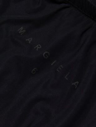 MM6 MAISON MARGIELA Lycra Logo Leggings