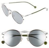 Christian Dior Women's Origins 1 53Mm Round Sunglasses - Blue