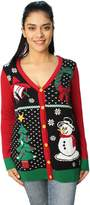 Ugly Chritmaweater Women' Button Downnowmanweathirt-mall