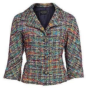 Etro Women's Tweed Bouclé Jacket