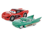 Disney Lightning McQueen & Flo Die Cast Set