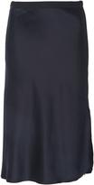 Nili Lotan Lillie Mid-Rise Silk Skirt