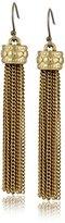 Lucky Brand Gold Tassle Earrings