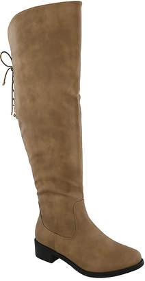 Top Moda Women's Casual boots khaki - Khaki Lace-Back Jones Boot - Women