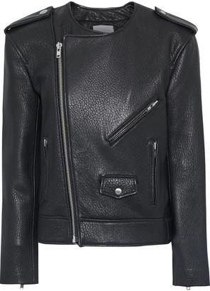 Rebecca Minkoff Katrina Textured-leather Biker Jacket
