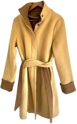 Lauren Ralph Lauren Beige Suede Coat for Women
