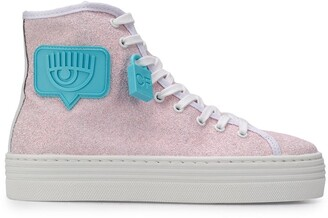Chiara Ferragni Side Patch Sneakers