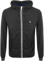 Original Penguin Hooded Ratner Jacket Black