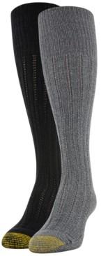 Gold Toe Women's Eco Tuck-Stitch 2pk Knee High Socks