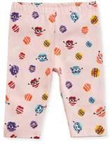 Fendi Girls' Monster Pompom Graphic Leggings, Size 12-24 Months