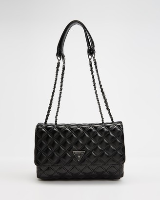 GUESS Cessily Convertible Cross-Body Flap Bag