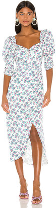 For Love & Lemons Taggart Midi Dress