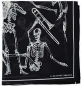 Alexander McQueen Dancing Skeleton Scarf