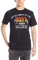 Liquid Blue Men's Kiss Road Crew '77 T-Shirt