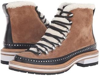 Rag & Bone Compass Boot (Camel/Shearling) Women's Boots