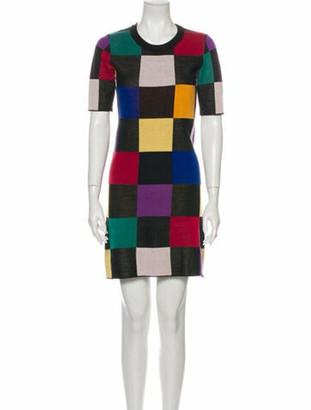 STAUD Wool Mini Dress Wool