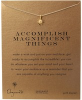 Dogeared Accomplish Magnificent Things Necklace 16 Necklace