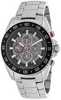 Michael Kors Jetmaster MK9011 Men's Round Silver Stainless Steel Watch