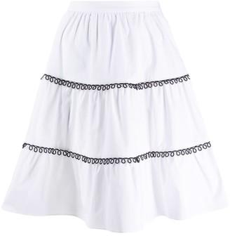 Pinko a-line skirt
