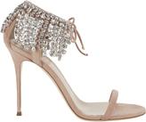 Giuseppe Zanotti Mistico Crystal Ankle Sandals