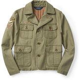 Ralph Lauren Cotton Twill Military Jacket