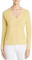 Eileen Fisher Textured V-Neck Sweater