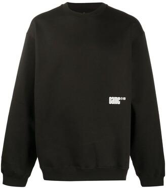 Oamc Photographic Print Sweatshirt