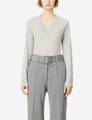 Theory V-neck cashmere jumper