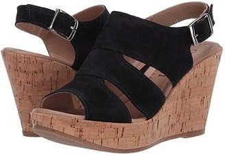 Cordani Rosie (Navy Suede) Women's Wedge Shoes