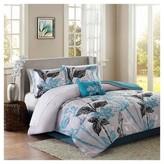 Nobrand No Brand Kendall Comforter and Sheet Set (Twin) Aqua - 7pc