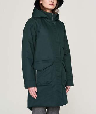Elvine Market Green Monica Heavy Winter Jacket - Size XS